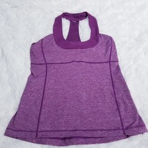 Lululemon Tank with built in bra size 10